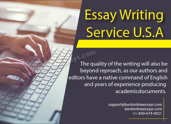 Having been bred and raised in the US, our tutors are well trained to provide essay writing service for United States Students