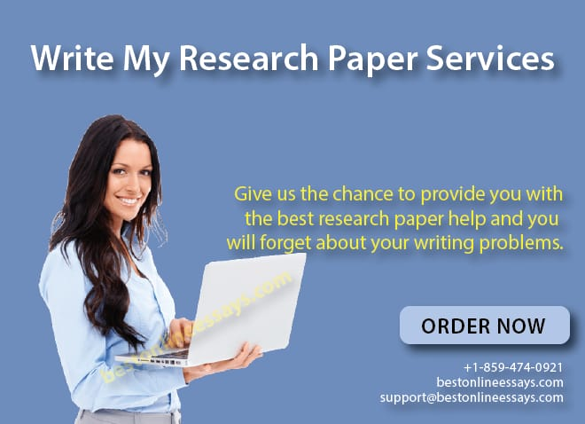 Give us a chance to provide the best research paper help and your writing problems will be a thing of the past