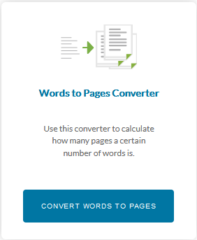 Words to Pages Converter